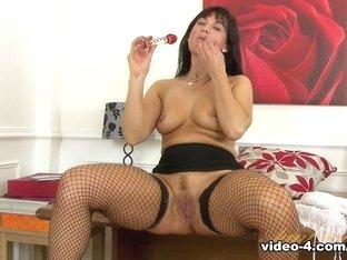 Amazing pornstar Lelani Tizzie in Incredible Masturbation, Big Tits porn scene