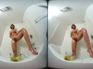 Amber Chase Anointed solo with oil VR
