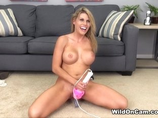 Fabulous pornstar Charisma Cappelli in Incredible Blonde, Masturbation xxx video