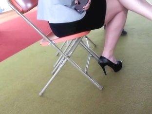 buisness women in high heels