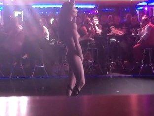 Naked on Stage 129 Demaria Layton Granddaughter