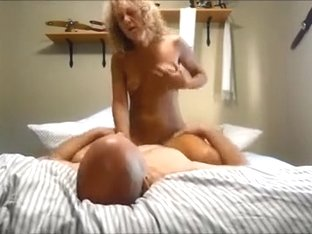 Curly Blonde Slut Wife