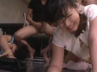 Naughty schoolgirl Azusa Ishihara enjoys hardcore headfucking