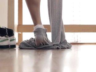 hot babe exercise
