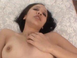 Latin Babe chick masturbates