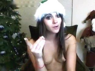 Peep! Live chat Masturbation! Exquisite angel Part.4 nipp piercings suffered - overseas Hen Santa .