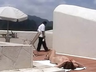 Exposed Wife to hotel waiter