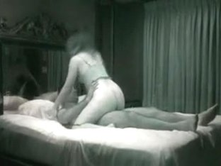 large sexy a-hole latin wife cheating with paramour in motel room