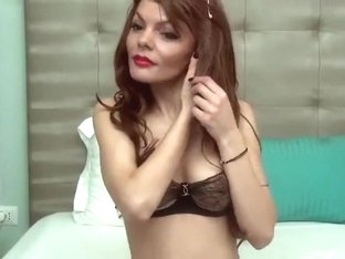 Attractive beauty PurreEssence posing in lingerie
