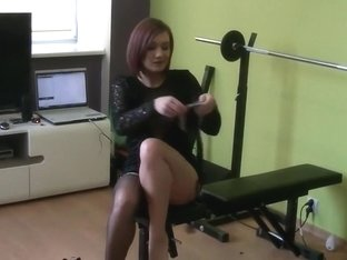 Hot sextape amateur clip with me posing on web camera