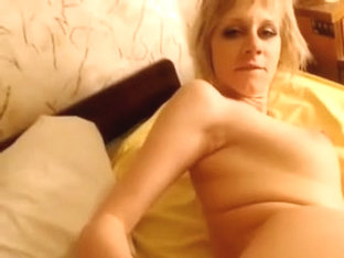 charming golden-haired sweetheart drilled hard on webcam