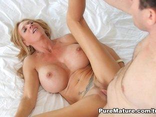 Exotic pornstar Brooke Tyler in Hottest Cunnilingus, Big Ass adult clip