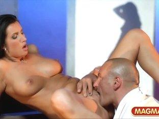 Incredible pornstar in Hottest Brunette, Babes xxx movie