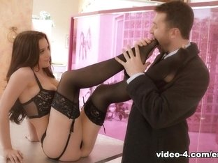 Crazy pornstars Lana Rhoades, James Deen in Hottest Lingerie, Foot Fetish xxx video