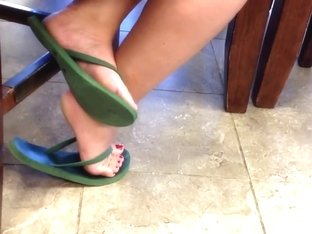 Candid feet #35