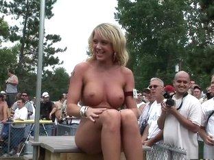 Best pornstar in horny outdoor, striptease xxx video