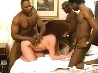 Interracial Orgy Party