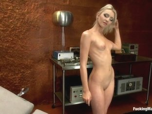 Horny squirting, fetish sex clip with best pornstar Layden Sin from Fuckingmachines