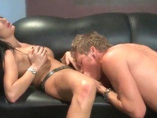 Big titted pornstar Alektra Blue gets a fuck