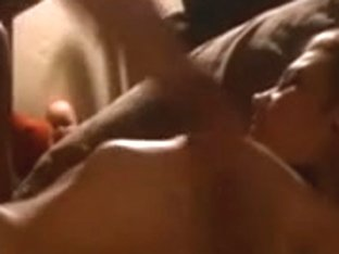 Tattoed sexy pair bedroom sextape