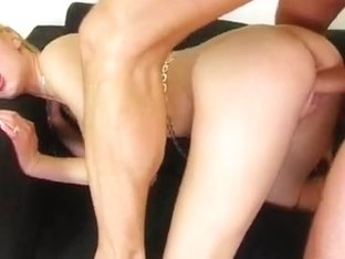 Another big titted beauty gets her tight asshole drilled.