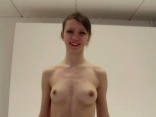 Teen Mona naked at casting