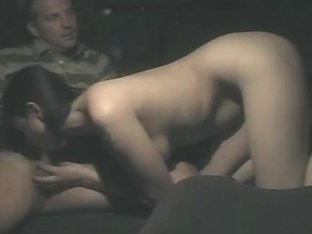 Voyeur fucking video was secretly made in the taxi