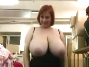 Russian Woman With Massive Natural Breast