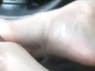 Mother I'd Like To Fuck Giving Footjob in Car by TROC