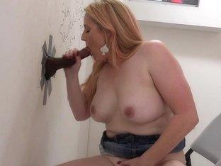 Milf rides big black cock