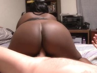 Giant Tit Ebon big beautiful woman Housewife Receives Drilled For XHamster