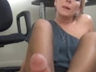awesome footjob