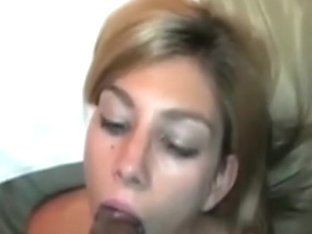 Slobbering on a black jock for cum
