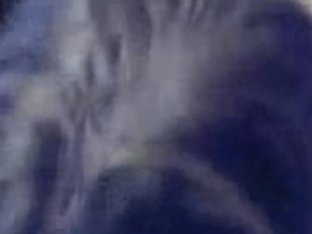 Naked Brunette on webcame gives blowjob and tit job