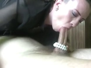 Sloppy Deepthroat With Pearls