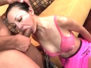 Asian Mom With Round Fake Tits Ange Venus Taking Big Meat