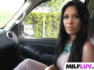 Busty latin MILF Alejandra Leon