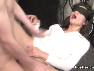 Valentina Bianco in Blind folded My Wife - Hustler