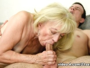 Fabulous pornstars in Incredible Grannies, Blonde adult scene