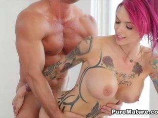 Fabulous pornstars Anna Bell, Anna Bell Peaks in Amazing MILF, Big Tits porn scene