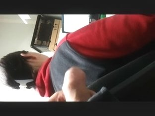 FLASHING BIG DICK AT WORK. ON MY COWORKER 2