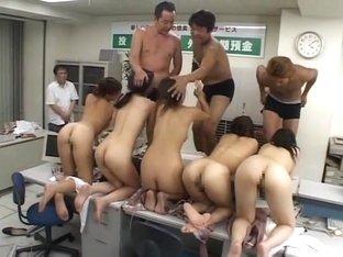 Akane Hotaru,Ruka Uehara,Megu Hagiwara,Yayoi Natsuki, Miyuki Ayano in Bank Robbery Nakadashi