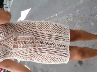 transparent dress