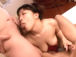 Fabulous Japanese model Yui Tanaka in Crazy Threesomes, Fetish JAV clip