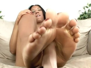 Best pornstar Anikka Albrite in amazing foot fetish, fetish sex scene