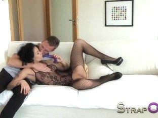 Incredible pornstar in Horny DP, Mature xxx video