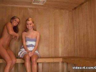 Fabulous pornstars Melissa XoXo, Jessie Rogers in Crazy Lesbian, HD sex scene