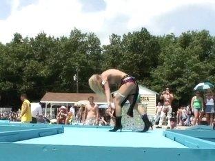 Crazy pornstar in exotic big tits, outdoor sex scene