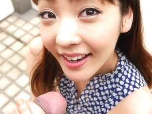 Nami Honda Swallows Cum On Her Birthday - JapanHDV