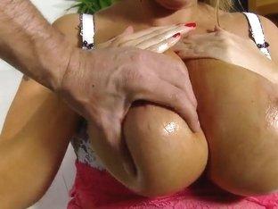 Nasty honey Laura needs that long penis now